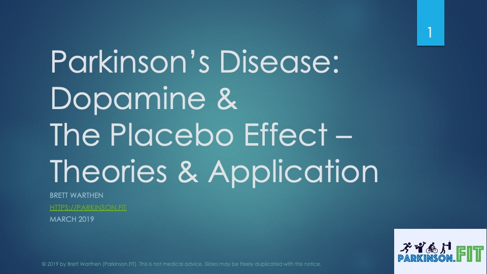Parkinson's Disease: Placebo Effect & Dopamine