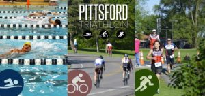 Fred Schwab takes on the Pittsford (NY) Triathlon