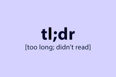 [2021: A PD Odyssey] Preface – TL;DR
